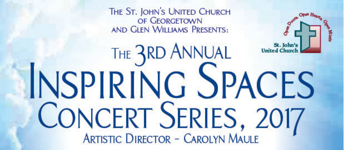 Inspiring Spaces Concert Series 2017