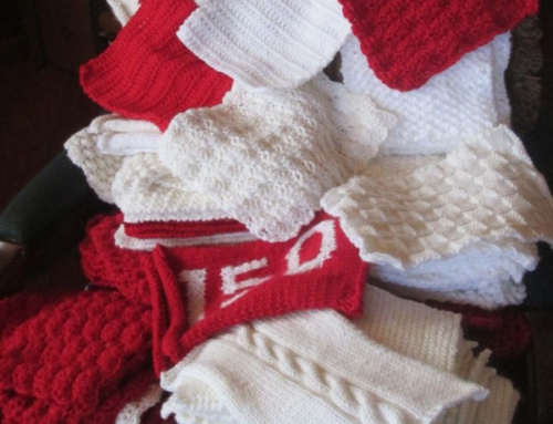Team Glen Williams – Update on the Canada 150 Knitters & Crocheters Project