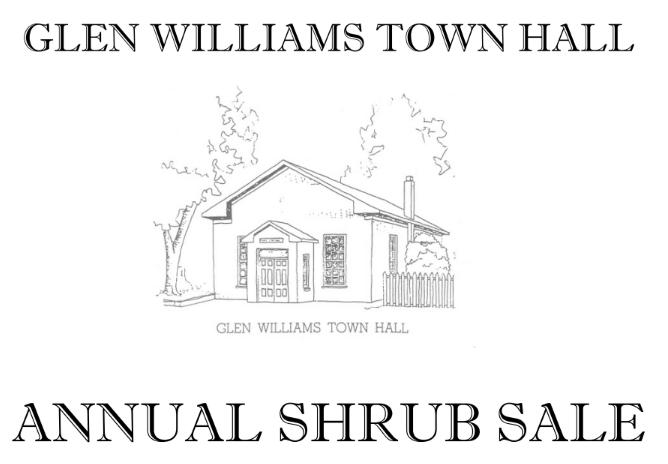 Town Hall Shrub Sale