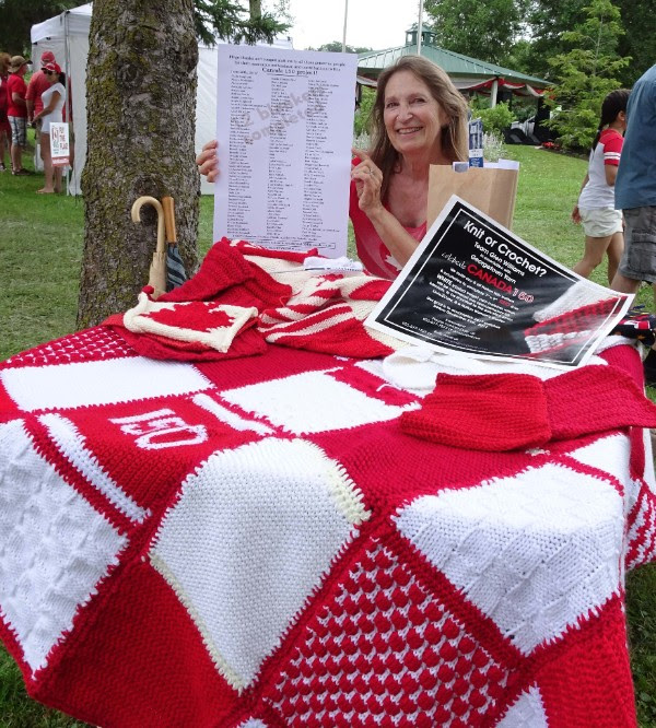 Dale Cox Canada 150 Blankets