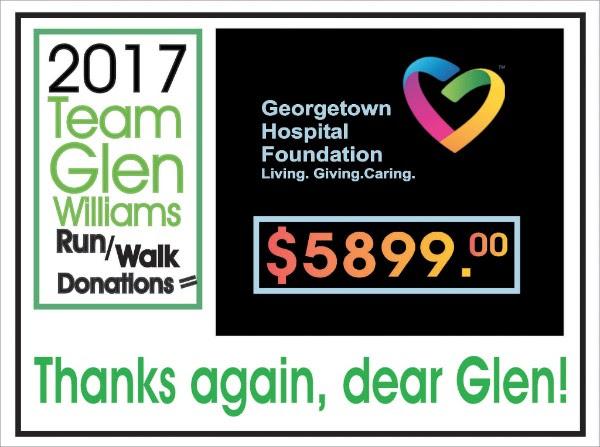 2017 Run Walk Team Glen Williams
