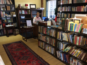 Georgetown Bookstore interior