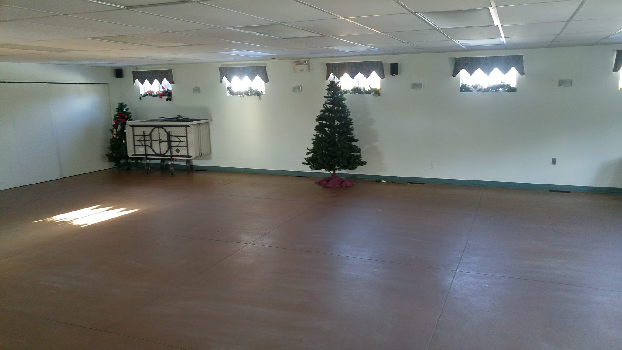 Church Hall after cleanup