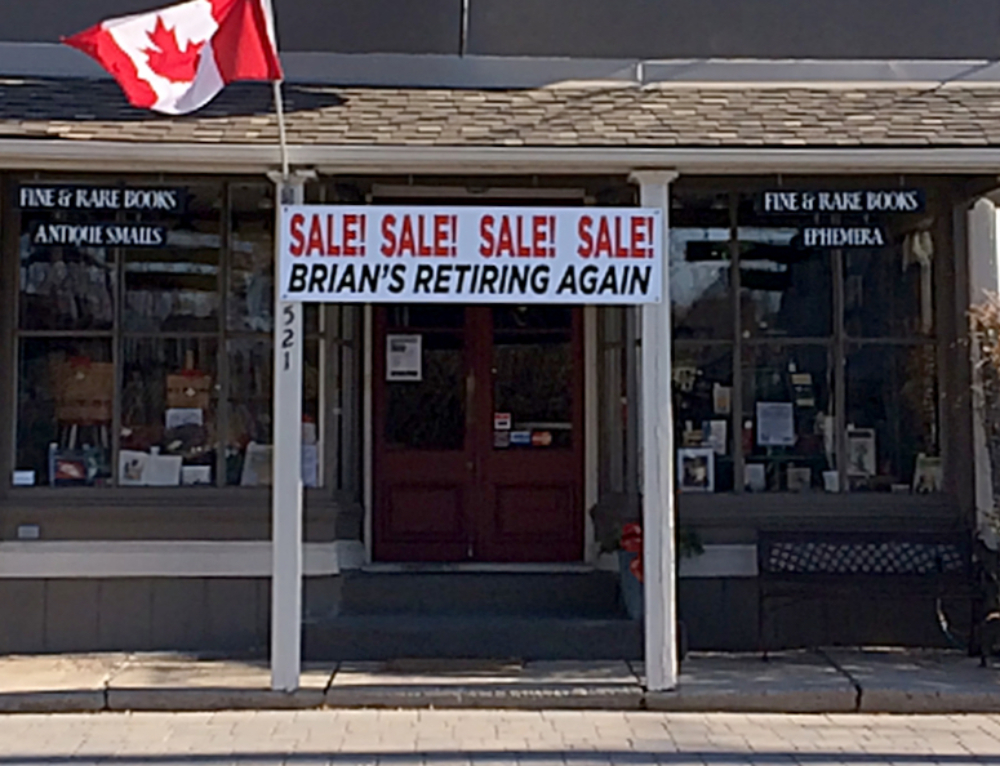 Inventory Sale at Reeve & Clarke Books