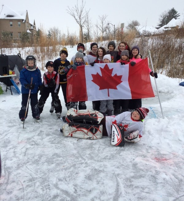 Outdoor Rink for Mini Olympics