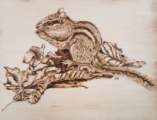 Ever thought about woodcarving?