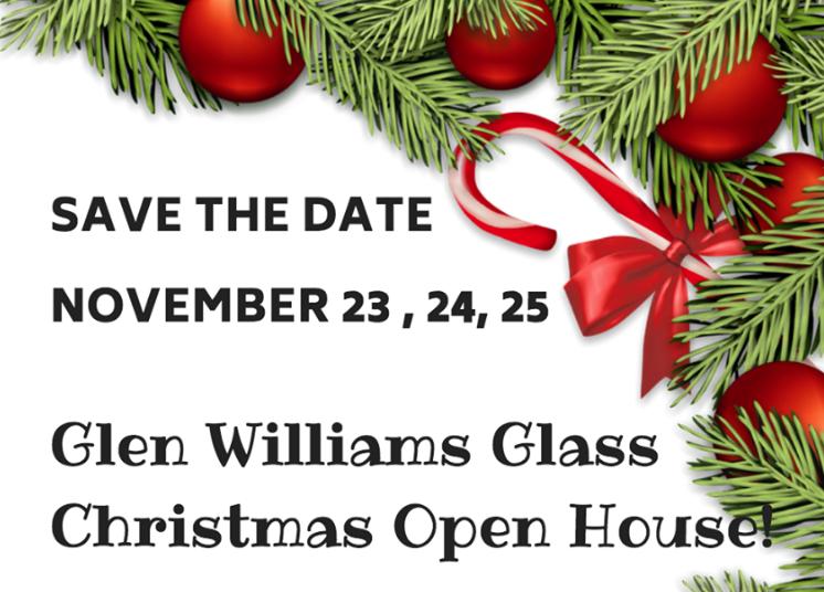 Glen Williams Glass Xmas Open House