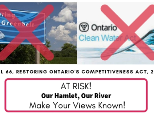 Bill 66 puts The Glen and the Credit River at risk