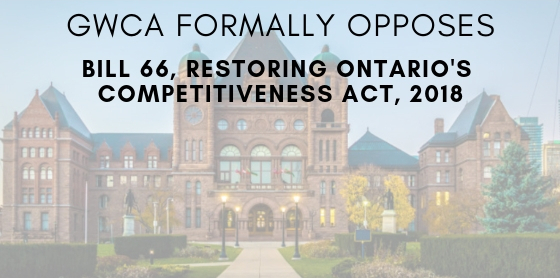 GWCA opposes Bill 66